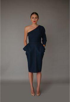 Organic denim dress by Mina & Olya