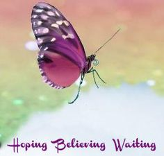 Hoping Believing Waiting - Home