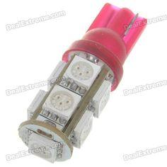 Ultra bright high intensity red light SMD LEDs - Number of SMD LEDs: 9 - Rated voltage: 12V 2W - Luminous flux: 126-lumen http://j.mp/1ljJGIw