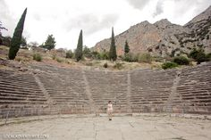 Delphi Theater.one day trip from Athens