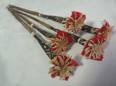 Ainu 花矢 hair ornaments