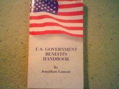 U.S. Government Benefits Handbook By Jonathan Lamott (paperback book 1995 :)