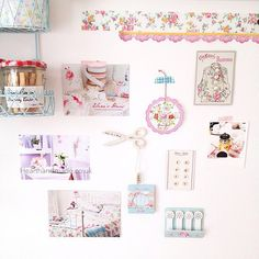Heart Handmade UK:  inspiration wall