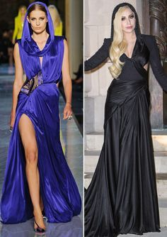 Your Guide to Spring 2014 Couture Fashion Week – Guess the Muse: Grace Jones or Lady Gaga? from #InStyle