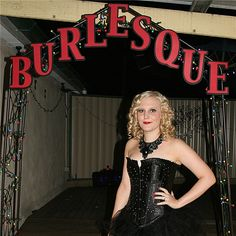 burlesque themed party decorations | Shelley's Land: Decorations for Jessie's 21st Party