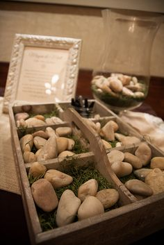 Irish Wishing Stone Guest Book