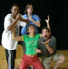 PLAYBACK THEATRE:   Full Expression from the Playback Performers.   Playback Theatre is an original form of improvisational theatre in which audience or group members tell stories from their lives and watch them enacted by others on the spot.