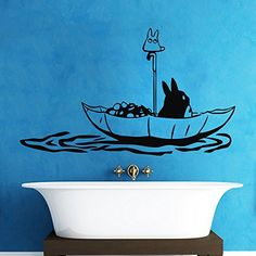 Vinyl Totoro Wall Decal Lovely Totoro Wall Sticker Totoro Wall Decor Wall Graphic Mural Nursery Wall Art Decoration Black DigTour WallArt http://www.amazon.com/dp/B00MWU05PG/ref=cm_sw_r_pi_dp_Ck-pvb0GG98CT