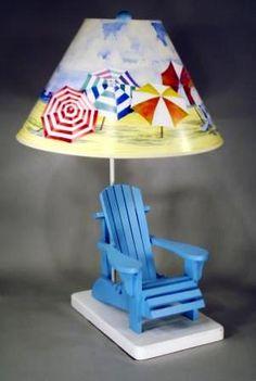 Awesome Beach Chair Lamp...#summer At The #beach!