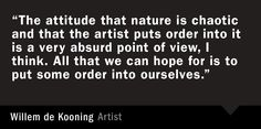 Willem de Kooning Quote