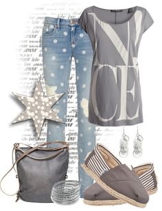 """Jeans With A Twist"" by tracireuer ❤ liked on Polyvore"