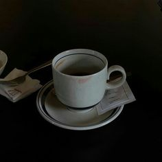 """dark extends itself, I breathe it in, something cruel or casual, something kind,"" — Jill Jones Dark Feeds, His Dark Materials, The Secret History, Something Beautiful, Stevia, Tea Cups, Coffee, Tableware, Black"