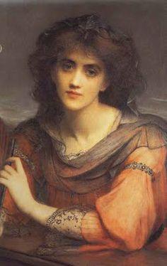 Pre Raphaelite Art: Charles Edward Hallé - Luna