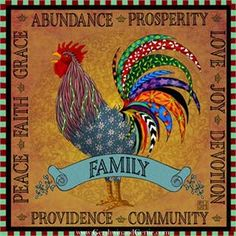 Chicken and Rooster Decor