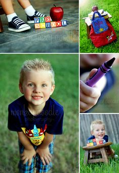 Monkey Doodle Photography: Monkey Doodle Photography ~ Katy, TX ~ Dylan - Back to Preschool session!