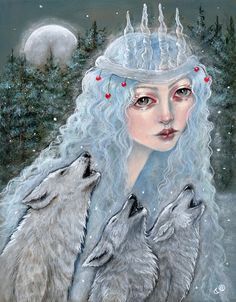 'The Yule Queen' by