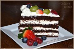 Dortový krém z Mascarpone Cakes, Recipes, Life, Food, Mascarpone, Cake Makers, Kuchen, Essen, Cake