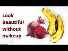 LOOK BEAUTIFUL WITHOUT MAKEUP WITH BEATROOT & BANANA GET A PERFECT GLOWING - YouTube Tomato Mask, Personal Questions, Without Makeup, Beetroot, Home Remedies, Smoothies, Glow, Banana, Drinks
