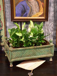 Rectangular Planters, Potted Plants, Pots, Restoration, Indoor, French, Green, Pot Plants, Interior