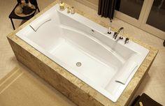 Optik C bathtub - master bath