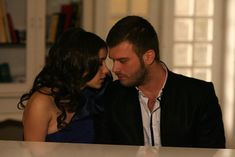 Kivanç Tatlitug and Hazal Kaya in Ask-i Memnu Forbidden Love, Tv Shows, Actors, Couple Photos, Couples, Fictional Characters, Samar, Legends, Feelings