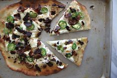 Jalepeno popper pizza (maybe try laughing cow cheese instead of cream cheese?)