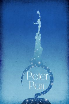 Disney Art Peter Pan Poster movie poster disney poster 11x17. $19.00, via Etsy.