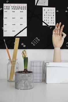Via Pihkala | Black White | Home Office | HAY Hand and Memo Pad