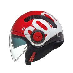 Κράνος Jet #Nexx SX.10 Cooljam Red-White Motorcycle Helmets, Bicycle Helmet, Red And White, Jet, Hard Hats, Red, Blue, Cycling Helmet, Motorcycle Helmet