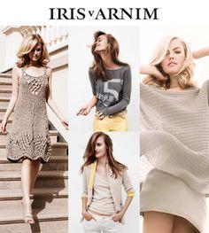 Designer Iris von Arnim's Cashmere Looks