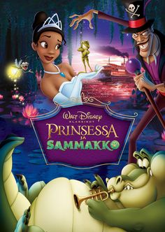 Disney Film Posters Like You've Never Seen Them Before | Princess and the Frog