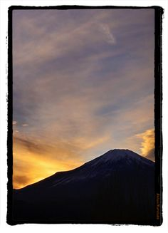 Mt.Fuji.  kurosuke ishigaki