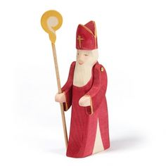 New 2014 version- Ostheimer St. Nikolas with Staff & moveable arms
