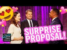 The Late Late Show Surprise Proposal