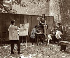 how I spent my summer holiday / lacontessa:    1920's Bohemians.