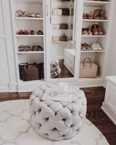 Love the mirrored cabinet door and the shoe shelves for flats or tennis shoes different from the heels and dressier shoes Source by bckfranzis room design Wardrobe Room, Room Closet, Attic Closet, Closet Space, Walk In Closet Design, Closet Designs, Small Walk In Wardrobe, Cozy Bedroom, Bedroom Decor