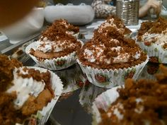 Krtkov kapkejk..))- alebo krtkove kopčeky...Verzia kapkejk krtkova torta.)) Croissants, Mocha, Baking Tips, Tiramisu, Gardening, Tiramisu Cake, Crescent Roll, Horticulture, Crescent Rolls