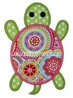 Turtle 2 - Applique Momma