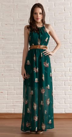 Vestido Longo Navegando | Vestuário | Antix Store