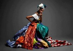 """""""I left Dakar untouched by the bazin's spell to bring a man to his knees, but sheathed in a bazin boubou and moussör fit for a Senegalese queen. African Fashion Designers, African Men Fashion, African Women, Oya Orisha, Orishas Yoruba, Bad Fashion, Funky Fashion, African Culture, Black Girls Rock"""