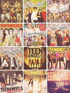 Los cds de teen angels