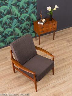 vintage kommoden hellerau 60er sideboard 50er franz ehrlich ein designerst ck von mid. Black Bedroom Furniture Sets. Home Design Ideas