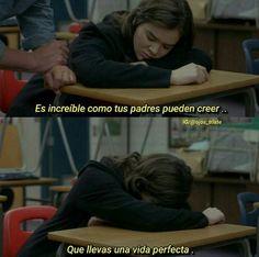 Frases Tumblr, Tumblr Quotes, Sad Quotes, Movie Quotes, Im Sad, Sad Love, Cute Spanish Quotes, Spanish Phrases, Ex Amor
