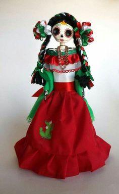 Mexico dia de Los Muertos doll