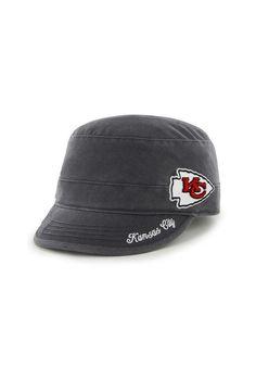 Kansas City Chiefs Womens 47 Brand Charcoal Avery Hat