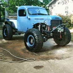 My Jeep Addiction Old Pickup Trucks, Ram Trucks, Dodge Trucks, Jeep Truck, Diesel Trucks, Cool Trucks, Lifted Trucks, Cool Cars, Dodge Power Wagon
