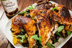 Moroccan Spiced Chicken. Photo and recipe by Irvin Lin of Eat the Love.
