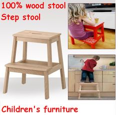 wooden chair step stool combination | New Wholesale !Children's Day gifts, Children step stool,child chairs ...