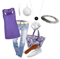 Day at the Market, created by calyson on Polyvore