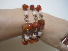 Pulsera piedra ambar Beaded Bracelets, Jewelry, Ideas, Fashion, Bangles, Moda, Jewlery, Jewerly, Fashion Styles